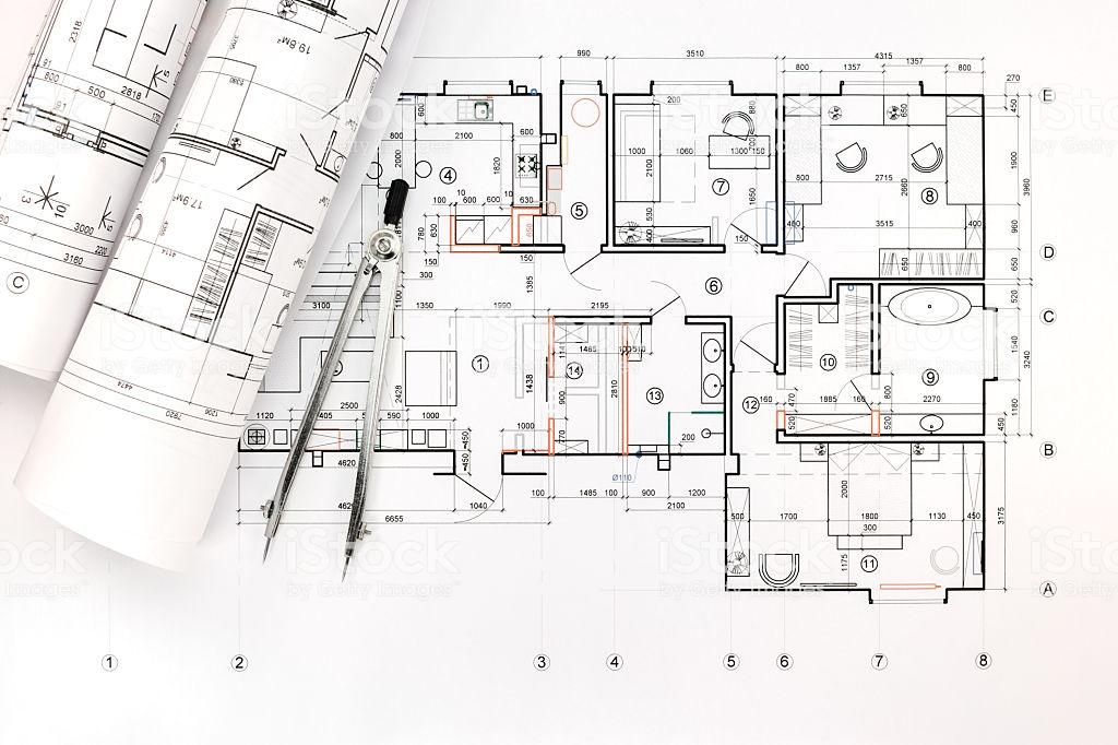 Архитектурный чертеж