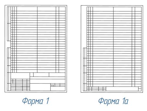 спецификация чертежа поясняющий документ форма